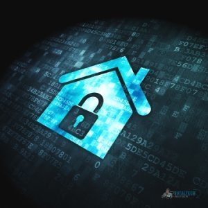 Home Internet Security Concept