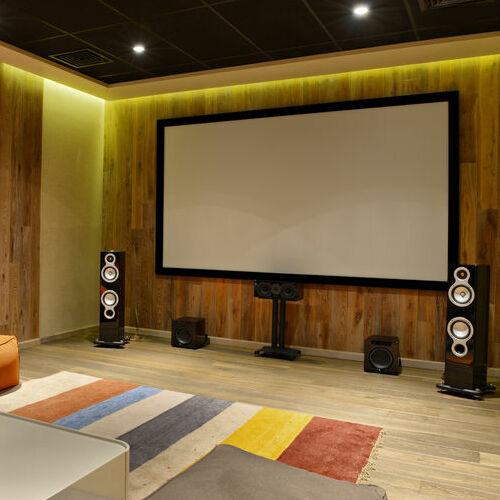 A Home Theater Set-Up