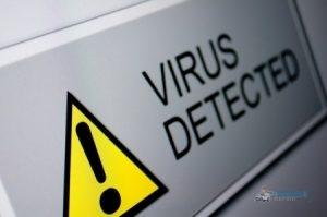 Computer Virus Warning Icon